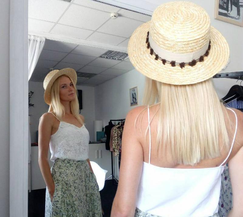 Irina is a wonderful designer of hats
