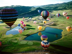 Hot balloons festivals all over the world