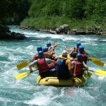 Camping and River Rafting in Ukraine