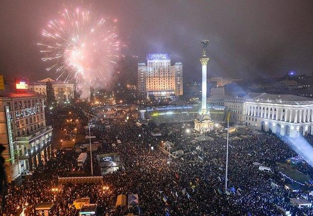 Christmas and New Year Day in Ukraine and Russia