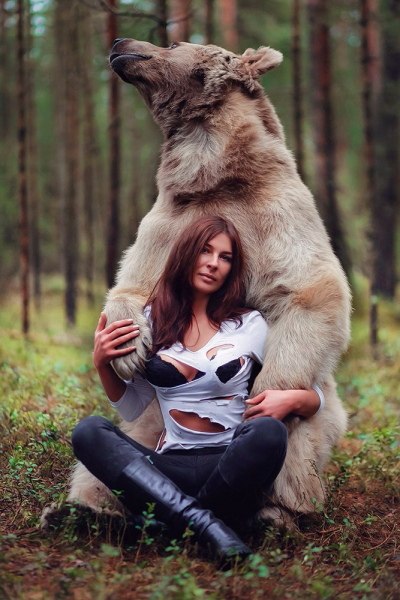 Wild Nature of Slavic Ladies