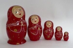 Matryoshka Doll-symbol of Russian brides-1