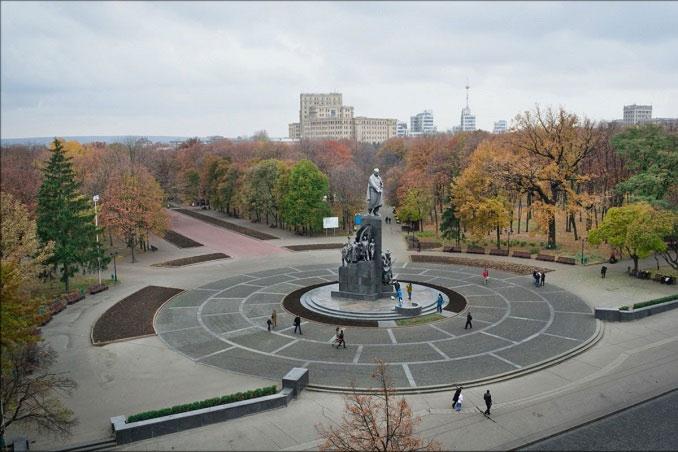 Shevchenko's garden